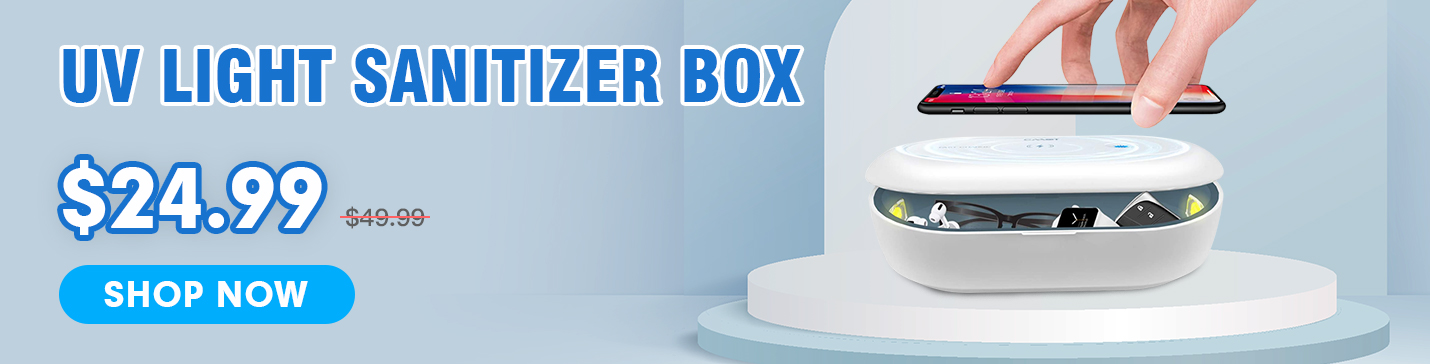 UV Light Sanitizer Box